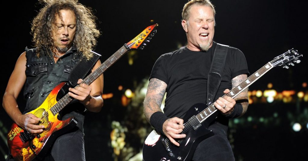 metallica hard rock metal