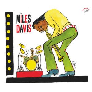 Pochette d'une compilation de Miles Davis dessinée par Cabu