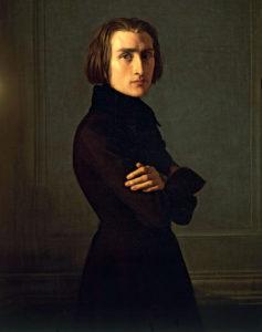 Franz LISZT (1811-1886), le plus génial pianiste compositeur du XIXe siècle, avec CHOPIN