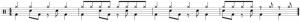 Rythme avec variation