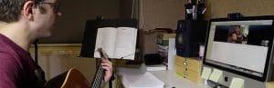 cours de musique par webcam
