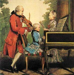 Mozart l'apprentissage d'un enfant génie